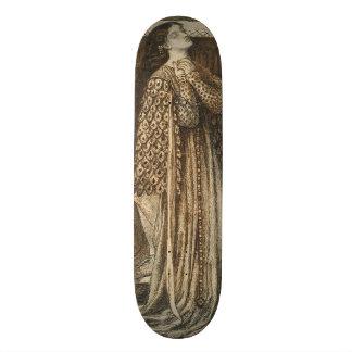 Sir Launcelot in Queen's Chamber Dante Rossetti Skateboards