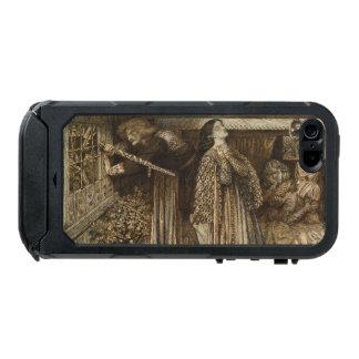 Sir Launcelot in Queen's Chamber Dante Rossetti Waterproof iPhone SE/5/5s Case
