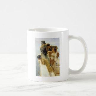 Sir Lawrence Alma-Tadema A Coign Of Vantage Coffee Mug