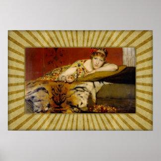 Sir Lawrence Alma-Tadema - Cherries Poster