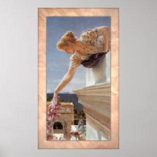 Sir Lawrence Alma-Tadema - God Speed! Poster