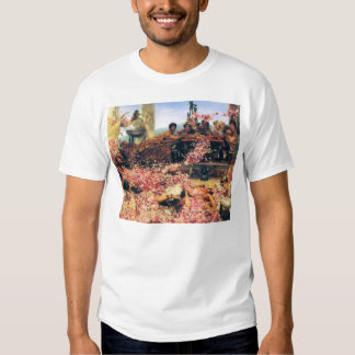 Sir Lawrence Alma-Tadema-The Roses of Heliogabalus T Shirt
