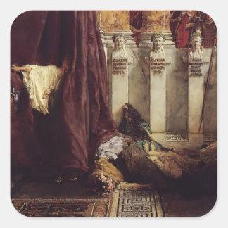 Sir Lawrence Tadema: Ave Caesar! Io Saturnalia! Stickers