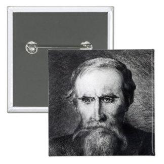 Sir Leslie Stephen, 1889 Pinback Buttons