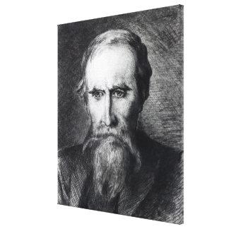 Sir Leslie Stephen, 1889 Canvas Print