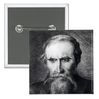 Sir Leslie Stephen, 1889 Pinback Button