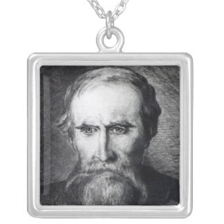 Sir Leslie Stephen, 1889 Silver Plated Necklace