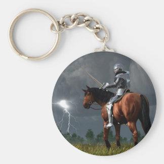 Sir Lightning Rod Keychain