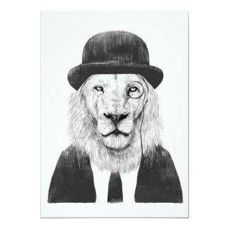 Sir lion card