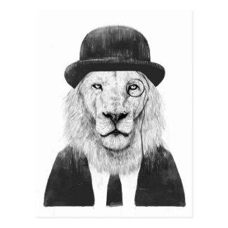 Sir lion postcard