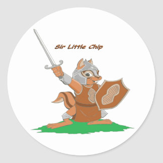 Sir Little Chip of the Mythale Forest Classic Round Sticker