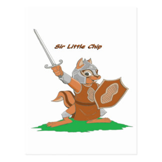 Sir Little Chip of the Mythale Forest Postcard