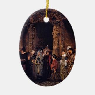 Sir Lorenzo Alma Leaving Church en siglo XV Adornos