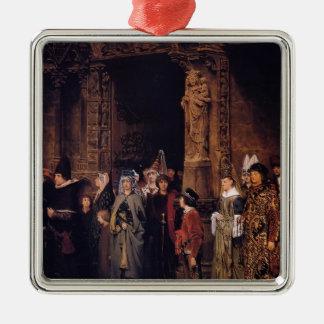 Sir Lorenzo Alma Leaving Church en siglo XV Ornamento Para Reyes Magos