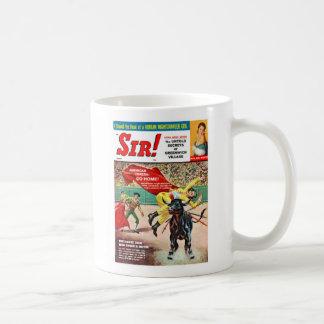 Sir Magazine Cover Aug 1960 Coffee Mug