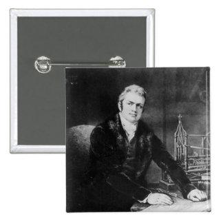 Sir Marc Isambard Brunel  1812-13 Pinback Buttons