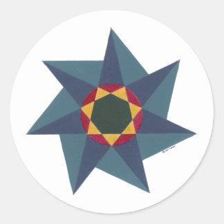 Sir Mark s Star Round Stickers