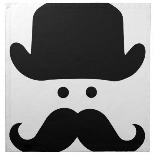 Sir Moustache Servilleta De Papel