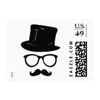 Sir Mustache postage