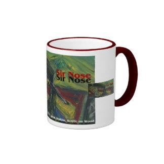 sir nose  coffee mug
