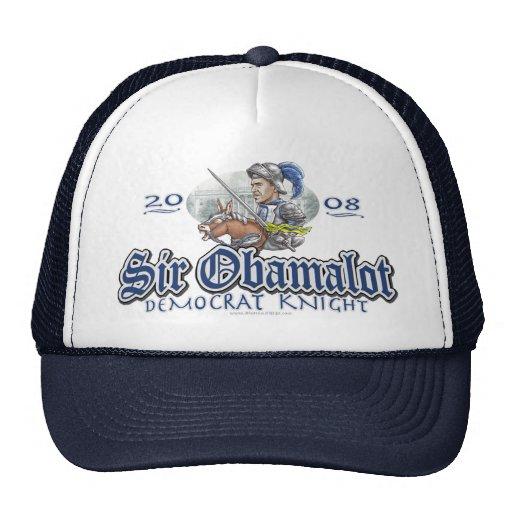 Sir Obamalot Obama 2008 Gear Trucker Hat