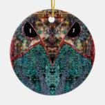 Sir Owl Christmas Ornaments