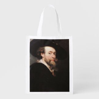 Sir Peter Paul Rubens - Portrait of the Artist Market Tote