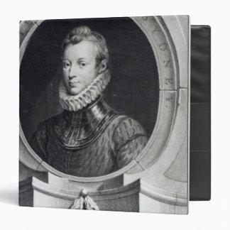 Sir Philip Sidney 3 Ring Binder