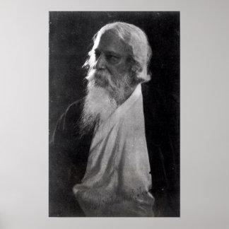 Sir Rabindranath Tagore Poster
