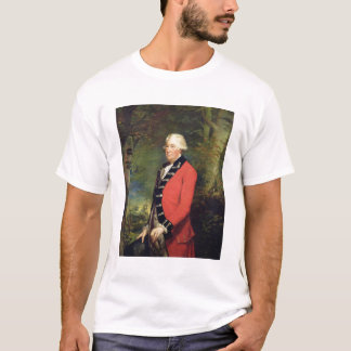 Sir Rafael Milbanke, 6to baronet, en el uniforme Playera