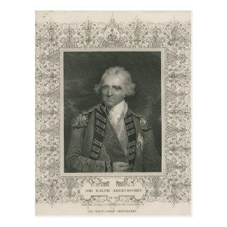 Sir Ralph Abercromby Postcard