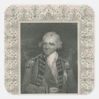 Sir Ralph Abercromby Square Sticker