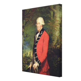 Sir Ralph Milbanke, 6th Baronet, in the Uniform of Stretched Canvas Print