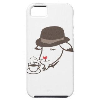 Sir Red Nose Smells el café Funda Para iPhone SE/5/5s