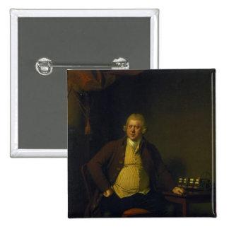 Sir Richard Arkwright, 1789-90 Pinback Button