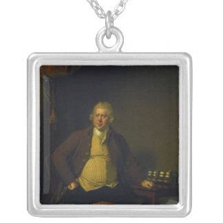 Sir Richard Arkwright, 1789-90 Silver Plated Necklace