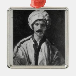 Sir Richard Burton Metal Ornament