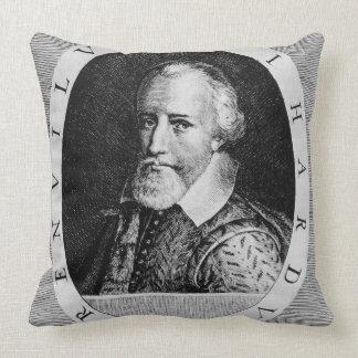 Sir Richard Grenville (c.1541-91), del 'verdugón Cojín Decorativo