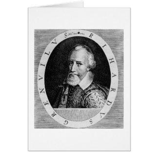 Sir Richard Grenville (c.1541-91), del 'verdugón d Tarjeta De Felicitación