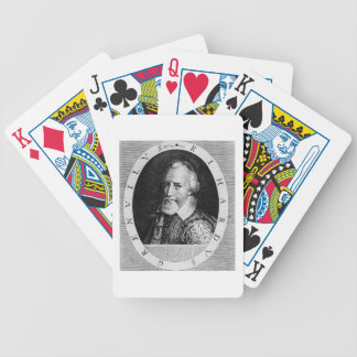 Sir Richard Grenville (c.1541-91), from 'Newe Welt Bicycle Playing Cards