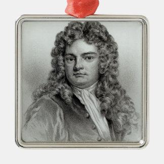 Sir Richard Steele Metal Ornament