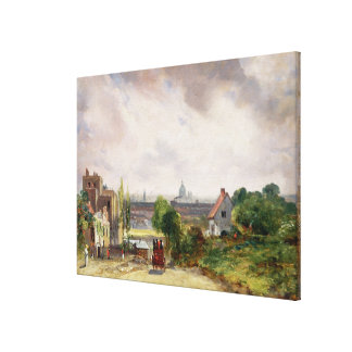 Sir Richard Steele's Cottage, Hampstead, c.1832 (o Canvas Print