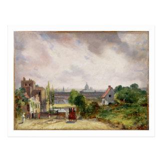 Sir Richard Steele's Cottage, Hampstead, c.1832 (o Postcard