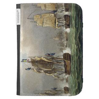 Sir Robert Calder's Action, July 22nd 1805, engrav Kindle 3G Cases