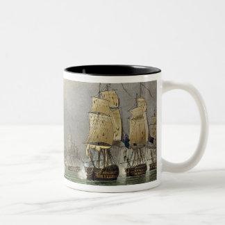 Sir Robert Calder's Action, July 22nd 1805, engrav Coffee Mug