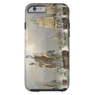Sir Robert Calder's Action, July 22nd 1805, engrav Tough iPhone 6 Case