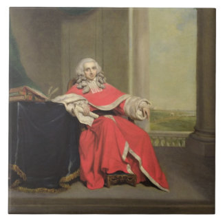 Sir Robert Chambers, c.1789 (oil on canvas) Large Square Tile