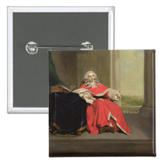 Sir Robert Chambers, c.1789 (oil on canvas) Pinback Button