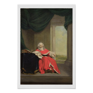 Sir Robert Chambers, c.1789 (oil on canvas) Poster