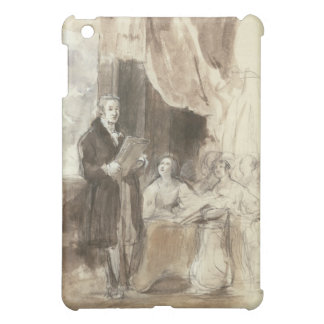 Sir Robert Peel Reading to Queen Victoria Case For The iPad Mini